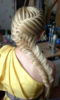 Fishtail Hairstyles for all situations 28