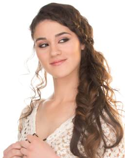 Fishtail Hairstyles for all situations 33