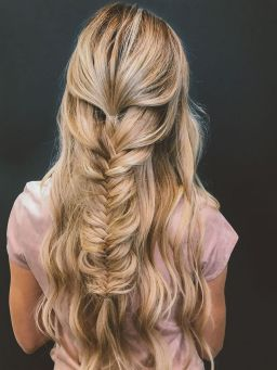 Fishtail Hairstyles for all situations 38