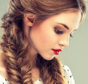 Fishtail Hairstyles for all situations 4
