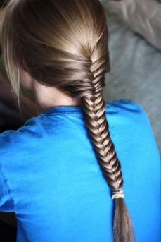 Fishtail Hairstyles for all situations 46