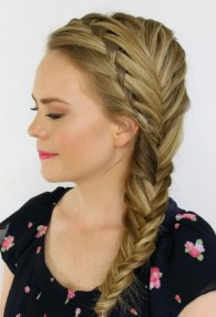 Fishtail Hairstyles for all situations 5