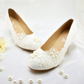 Floral Wedding Shoes Ideas You Never Seen Before 17