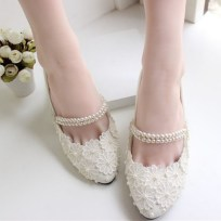 Floral Wedding Shoes Ideas You Never Seen Before 22