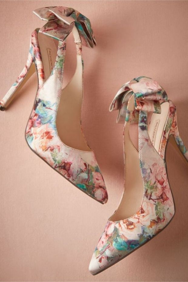 Floral Wedding Shoes Ideas You Never Seen Before 3