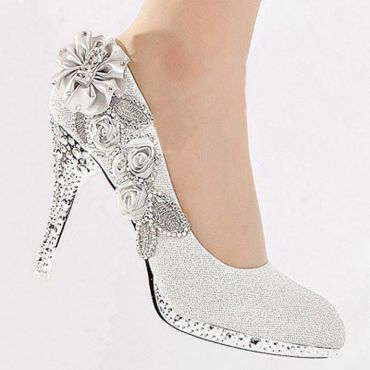 Floral Wedding Shoes Ideas You Never Seen Before 40