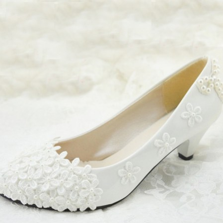Floral Wedding Shoes Ideas You Never Seen Before 43