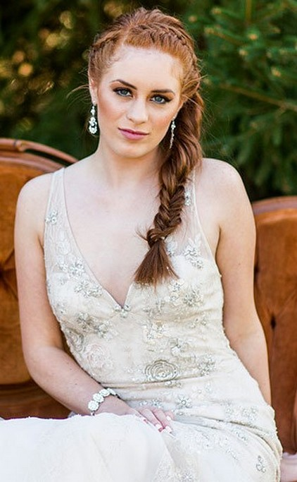 Hairstyles for long hair at wedding Ideas 25