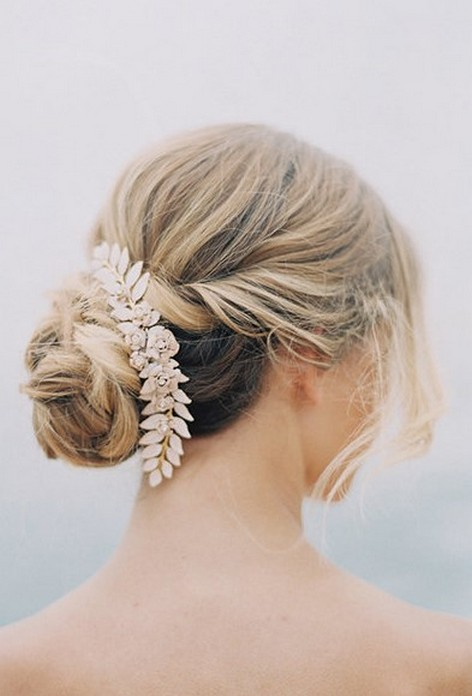 Hairstyles for long hair at wedding Ideas 30