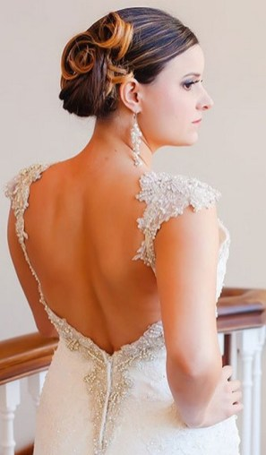 Hairstyles for long hair at wedding Ideas 34
