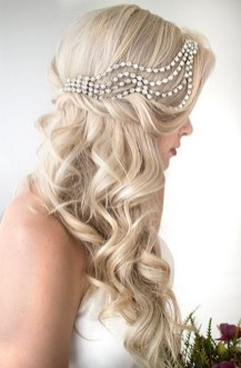 Hairstyles for long hair at wedding Ideas 41