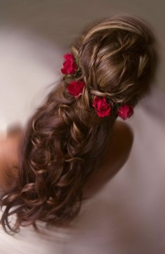 Hairstyles for long hair at wedding Ideas 47