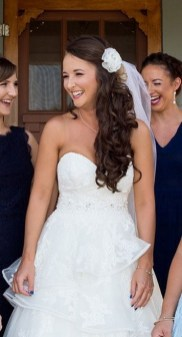 Hairstyles for long hair at wedding Ideas 58
