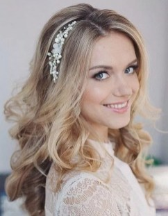 Hairstyles for long hair at wedding Ideas 9