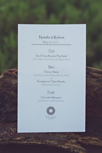 Simple Wedding Reception Program Sample Ideas 4