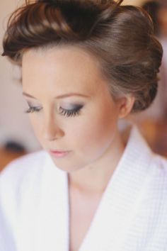 Soft and Romantic wedding makeup looks for fair skin 20