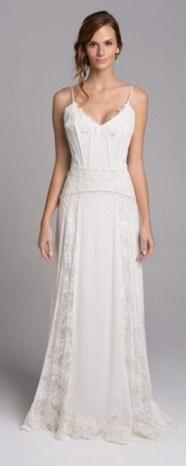 Spaghetti Strap Wedding Day Dresses Gowns ideas 14