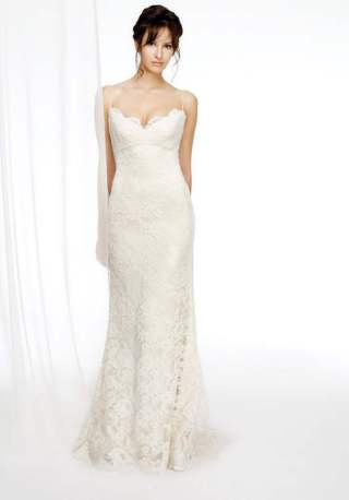 Spaghetti Strap Wedding Day Dresses Gowns ideas 20