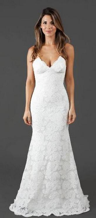 Spaghetti Strap Wedding Day Dresses Gowns ideas 26