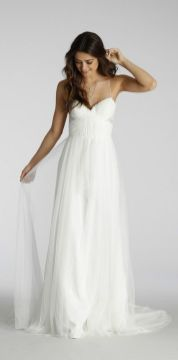 Spaghetti Strap Wedding Day Dresses Gowns ideas 28