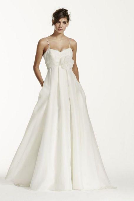 Spaghetti Strap Wedding Day Dresses Gowns ideas 45