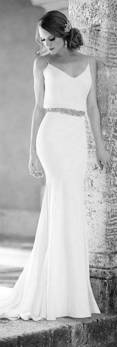 Spaghetti Strap Wedding Day Dresses Gowns ideas 46