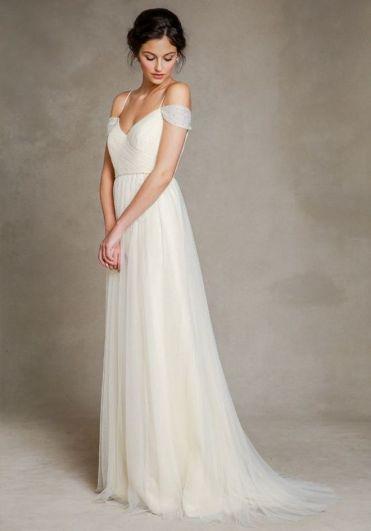 Spaghetti Strap Wedding Day Dresses Gowns ideas 58