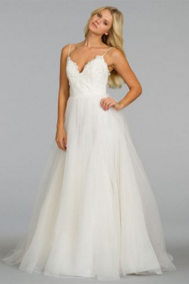 Spaghetti Strap Wedding Day Dresses Gowns ideas 8
