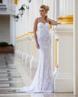 Spaghetti Strap Wedding Day Dresses Gowns ideas 82