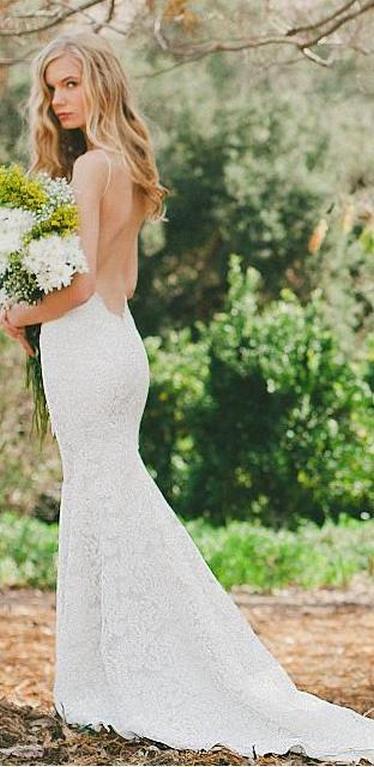Spaghetti Strap Wedding Day Dresses Gowns ideas 87