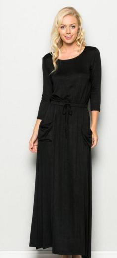 Women Casual Long Maxi Dresses with Pockets ideas 22