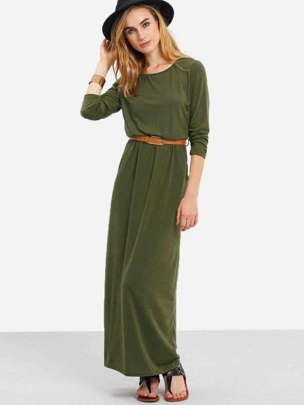 Women Casual Long Maxi Dresses with Pockets ideas 5