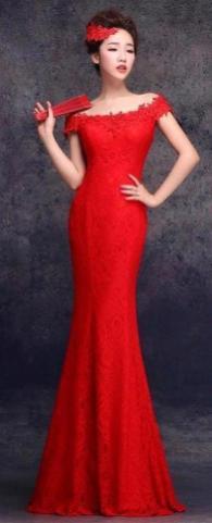 Women Sexy 30s Brief Elegant Mermaid Evening Dress ideas 1