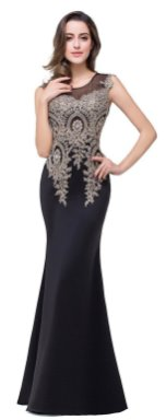 Women Sexy 30s Brief Elegant Mermaid Evening Dress ideas 15