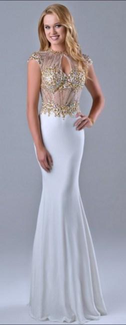 Women Sexy 30s Brief Elegant Mermaid Evening Dress ideas 3