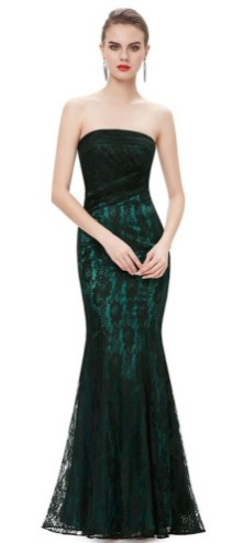 Women Sexy 30s Brief Elegant Mermaid Evening Dress ideas 36