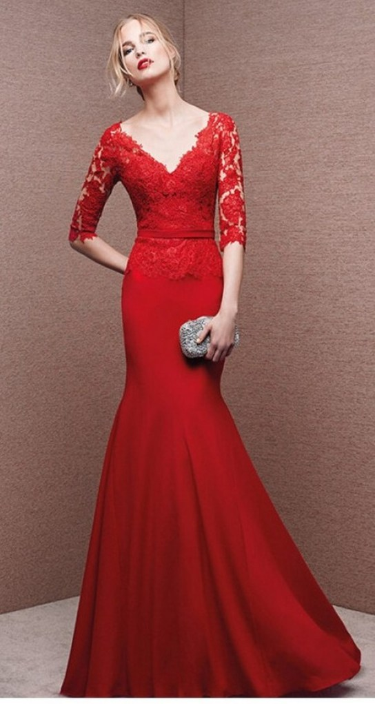 Women Sexy 30s Brief Elegant Mermaid Evening Dress ideas 38