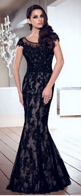 Women Sexy 30s Brief Elegant Mermaid Evening Dress ideas 7