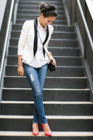 Womens blazer outfit ideas 101