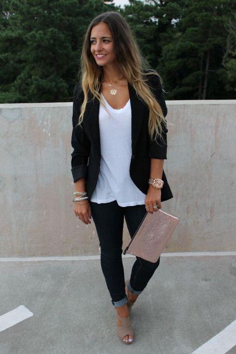 Womens blazer outfit ideas 25