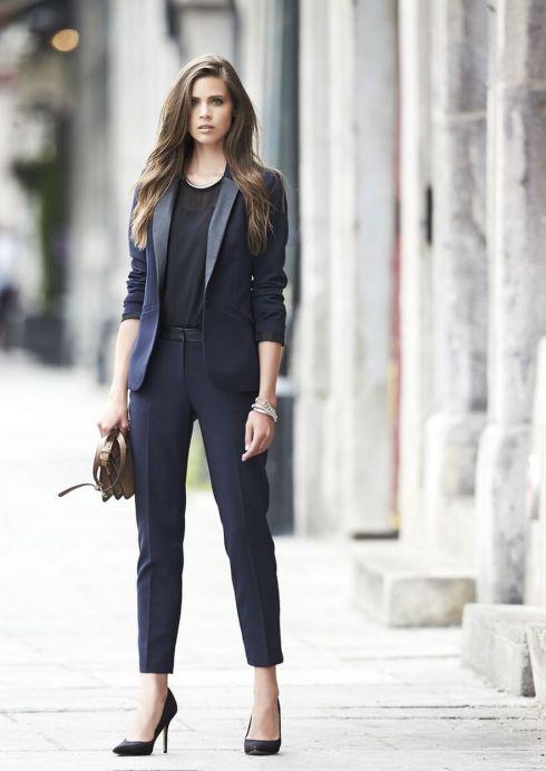 Womens blazer outfit ideas 26