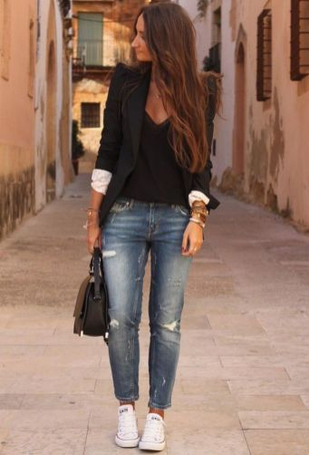 Womens blazer outfit ideas 6