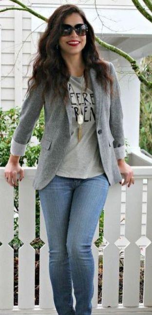 Womens blazer outfit ideas 70