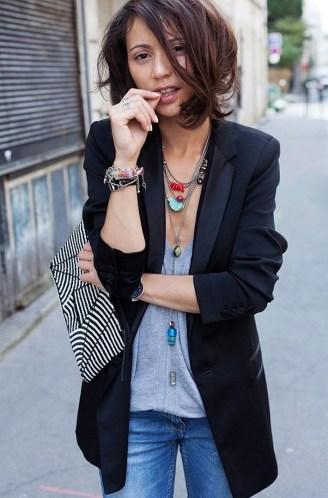 Womens blazer outfit ideas 97
