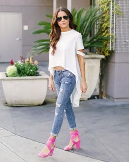 World of jeans cute winter outfits ideas 27