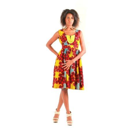 african prints short dresses 12