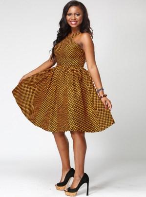 african prints short dresses 15