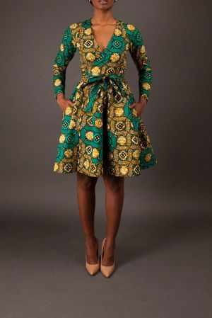 african prints short dresses 18