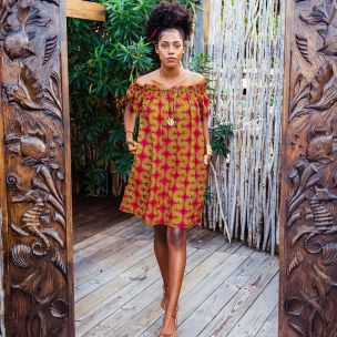 african prints short dresses 19