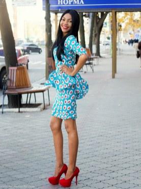 african prints short dresses 32